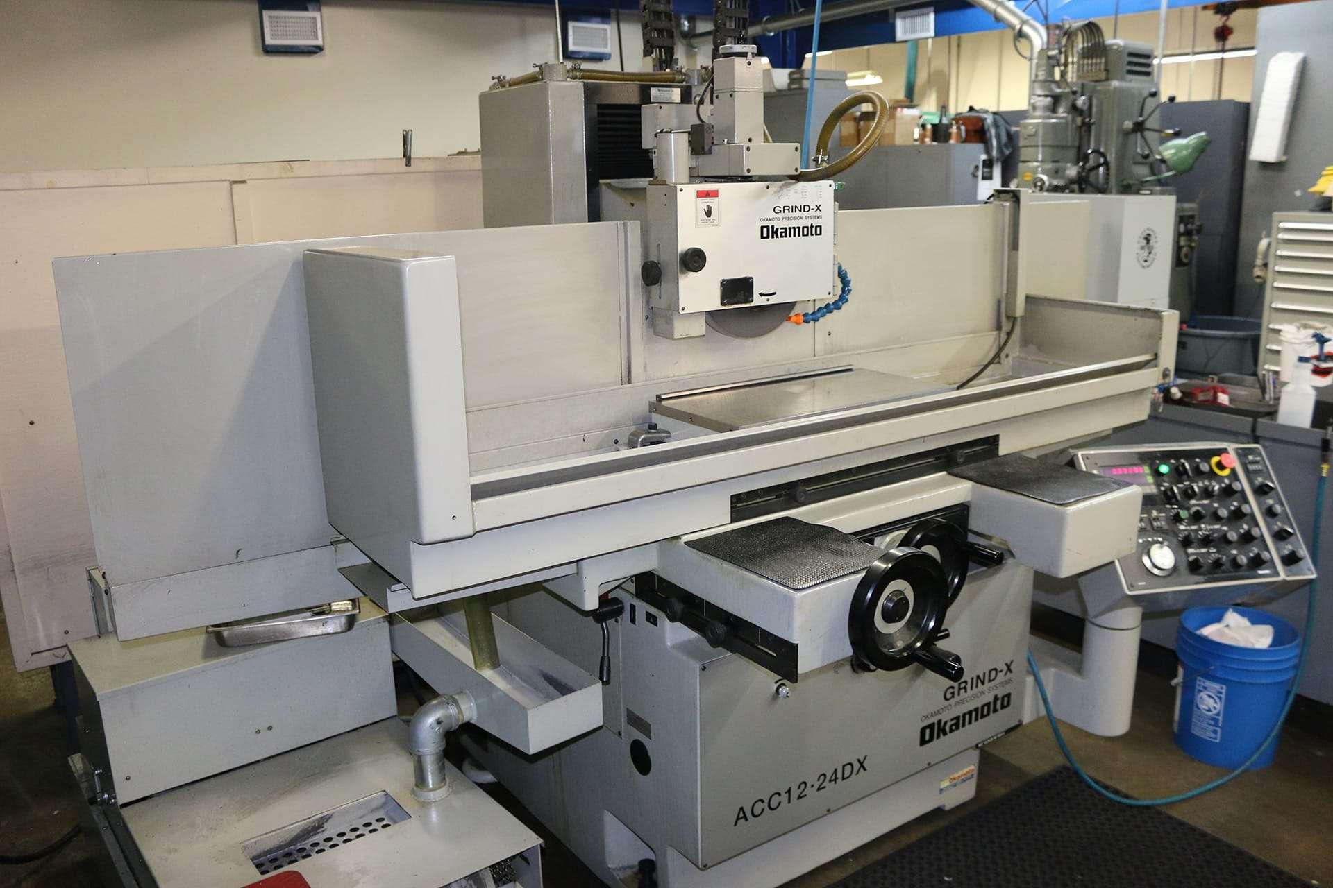 okamoto grind-x surface grinding machine
