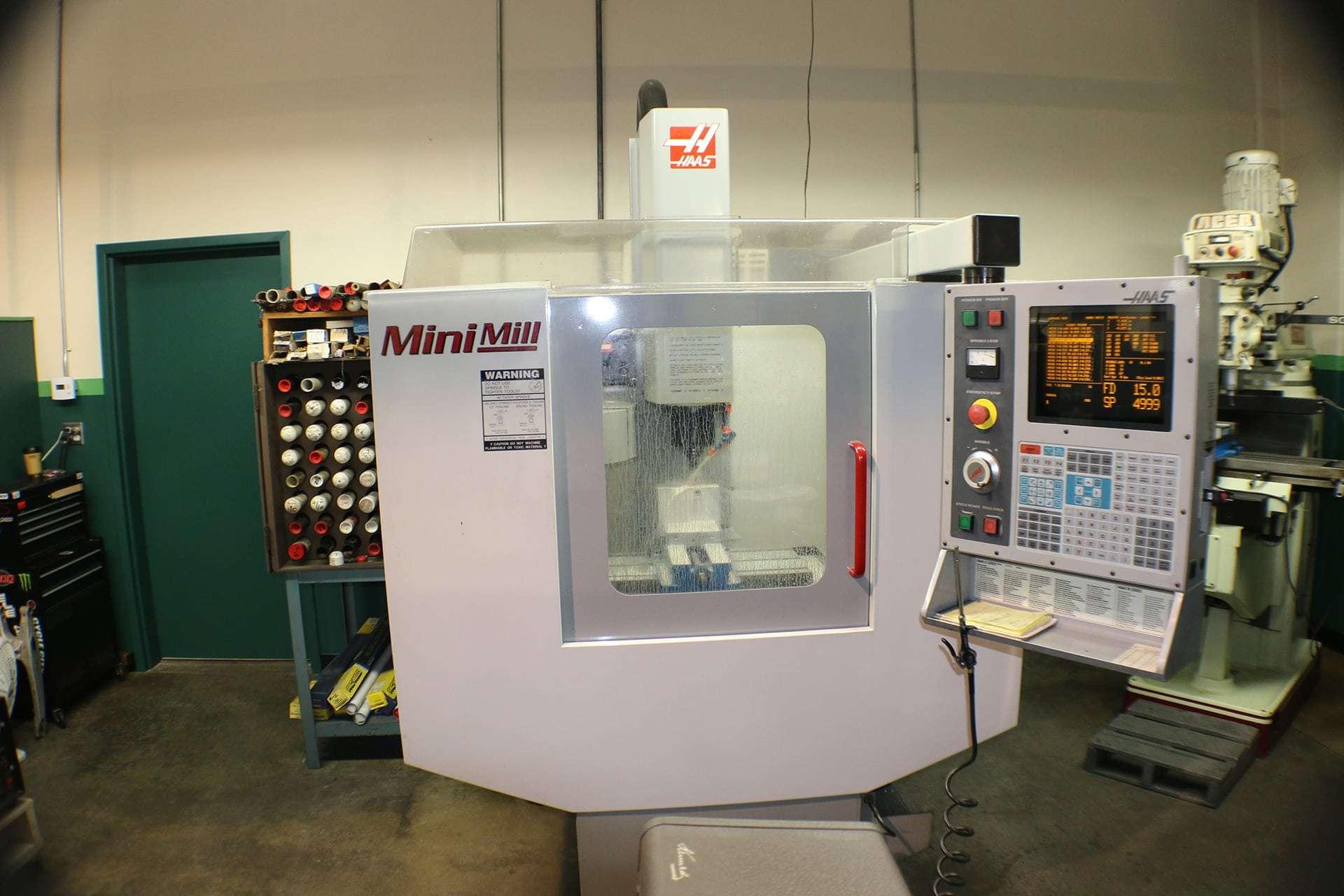 mini mill cnc milling machine