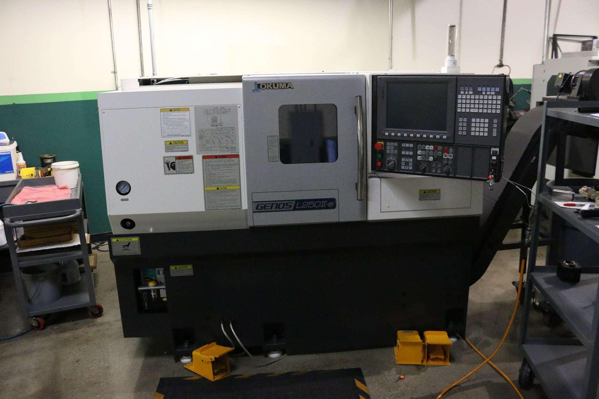 okuma cnc lathe machine